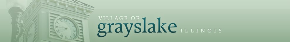 Village of Grayslake E-Gov Services