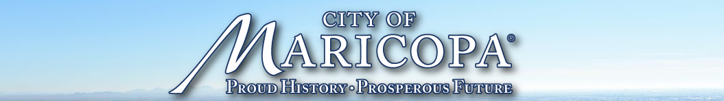 City of Maricopa E-Gov Services
