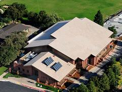 Arrillaga Family Gymnasium Arial View